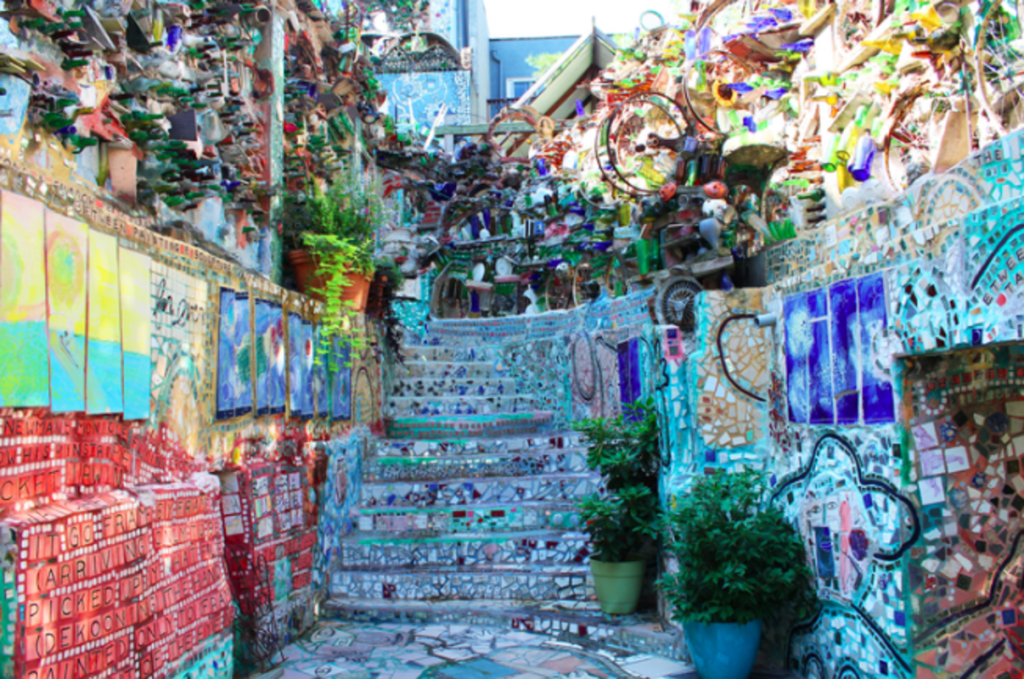 Discover A Kaleidoscopic World Of Art At This Outdoor Gallery Tucked Away In South Street