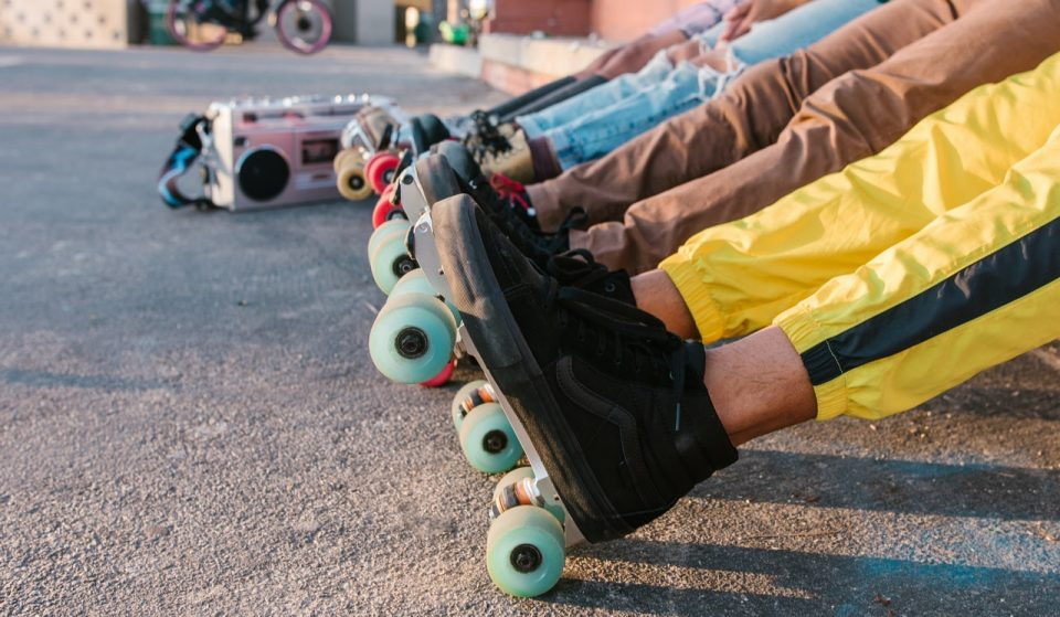 A Groovy New Roller Skating Rink Is Opening In Dilworth Park Today!
