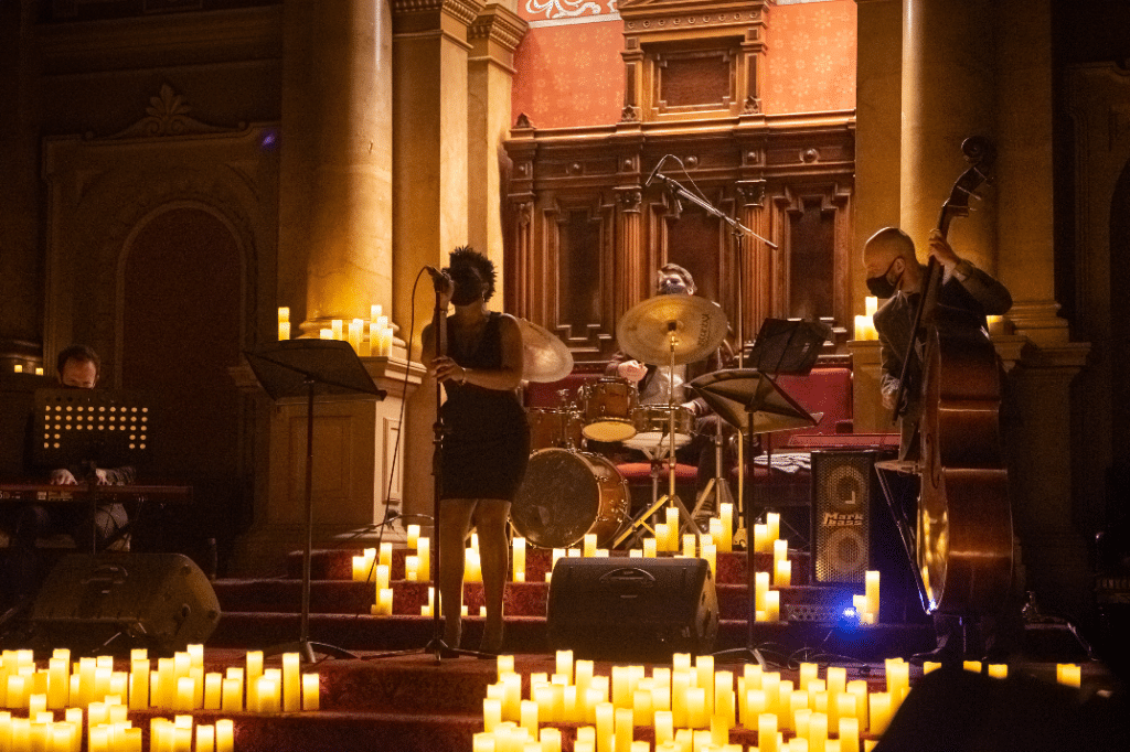 Travel Back To The Soul Age With This Stunning Candlelight Concerts Overlooking Center City