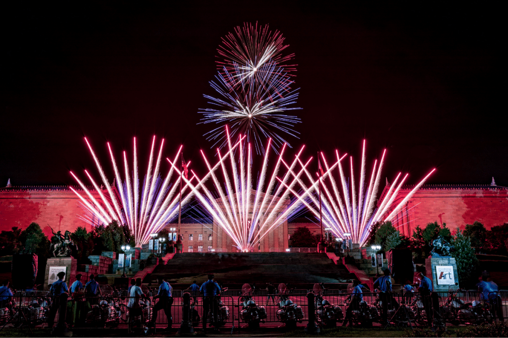 Here's What To Know About The Fourth Of July Benjamin Franklin Parkway Firework Show
