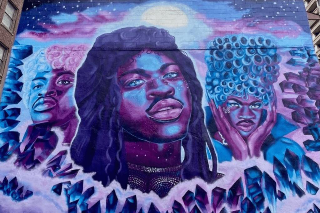 A Lil Nas X Mural Is Now On Display In The Gayborhood