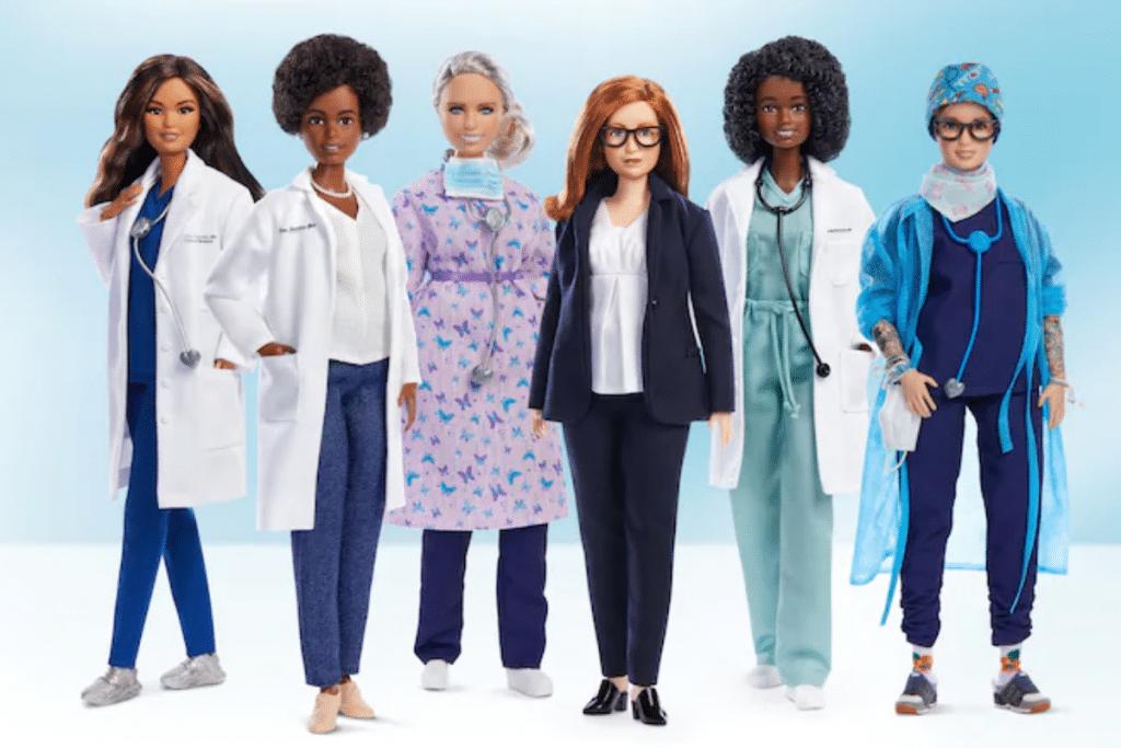 These Coronavirus-Fighting Dolls Are Encouraging Girls To Pursue Their Dream Careers