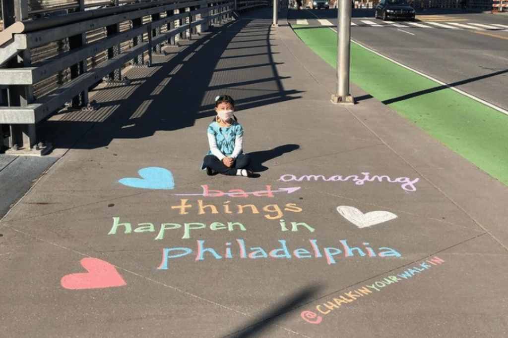 This Philly Healthcare Worker Found A Creative Way To Bond With Her Kids During The Lockdown