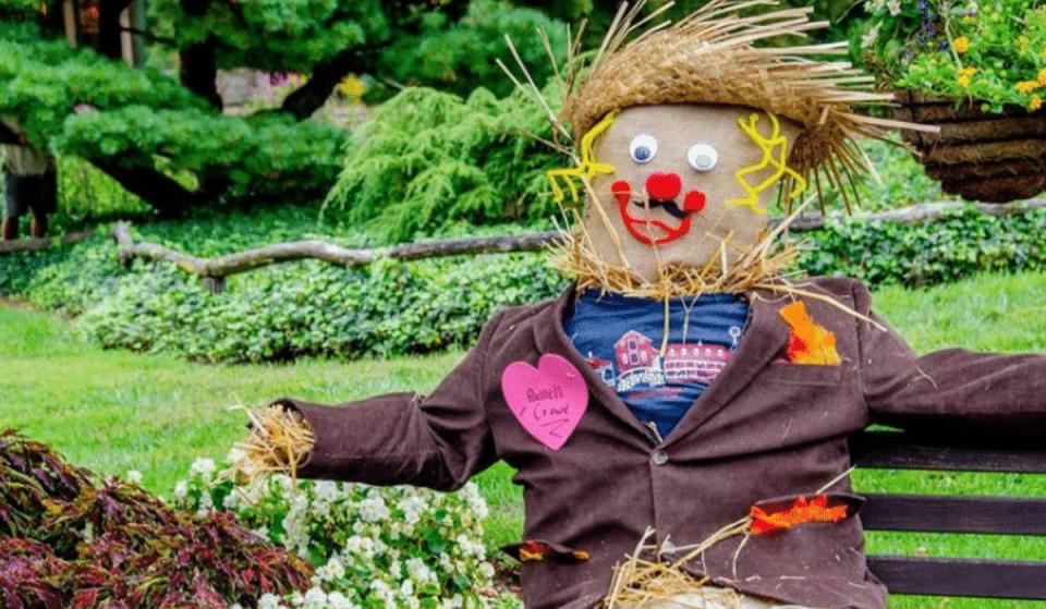 Enter This Sensational Scarecrow Making Contest For A Cash Prize At Peddler's Village
