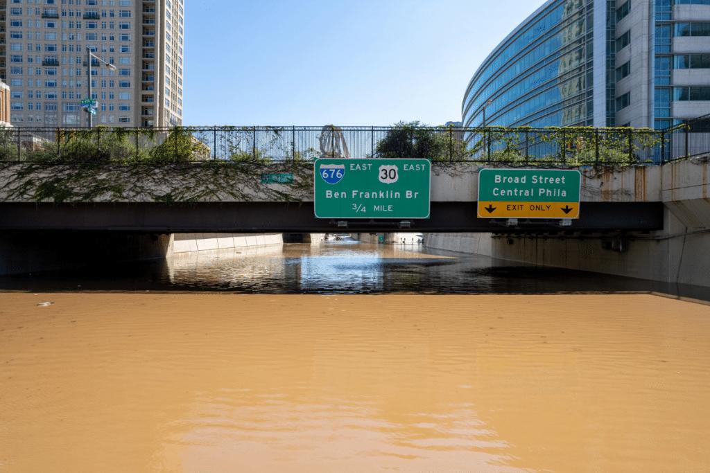 Historic Flooding From Hurricane Ida Has Halted Philadelphia